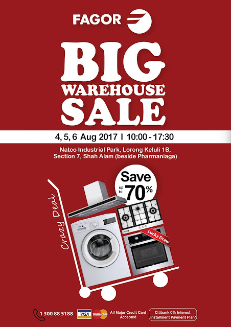Fagor Malaysia Warehouse Sale Discount Offer Home Appliances