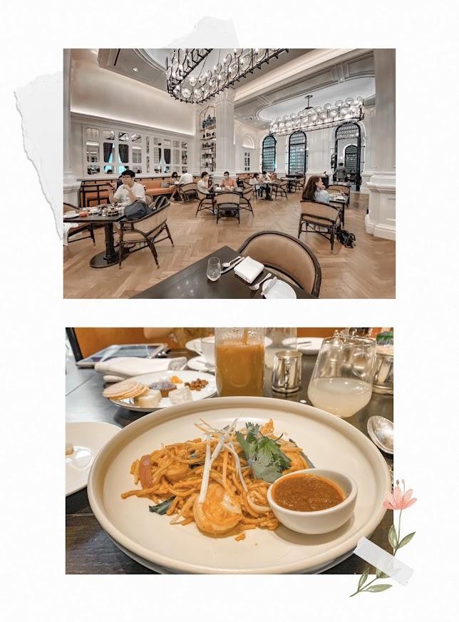 raffles hotel breakfast