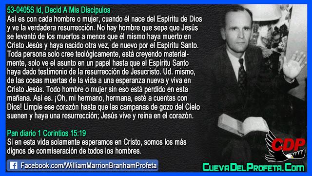 El Secreto de la verdadera Resurrección - William Branham en Español