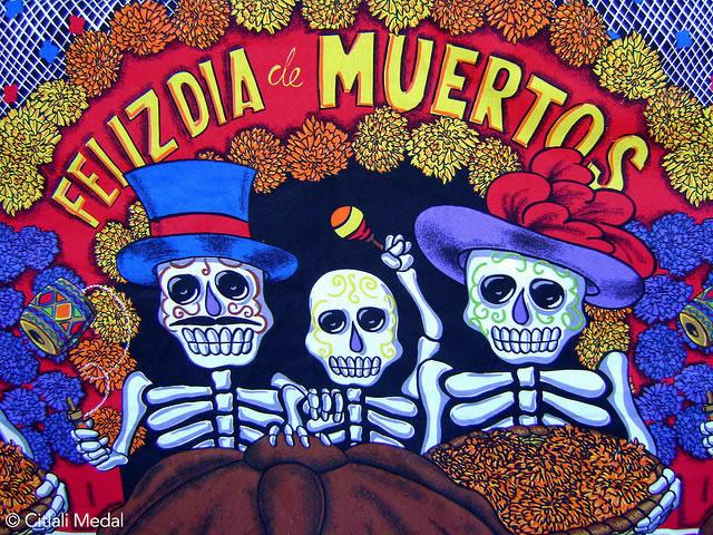 BANCO DE IMÁGENES: Día De Muertos, Altares Y Ofrendas