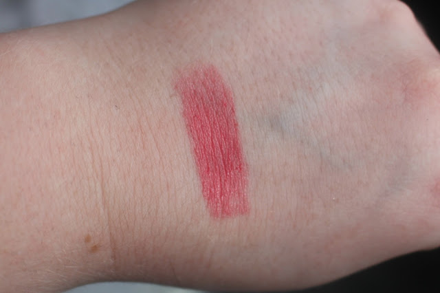 Photo of Swatch of Sheer Revolution Lipstick in Sheer Streak from Urban Decay Goodie Bag