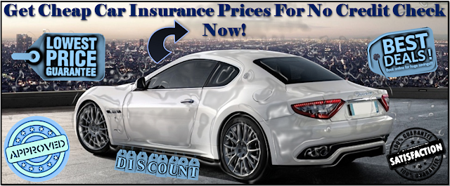 No Credit Check Car Insurance