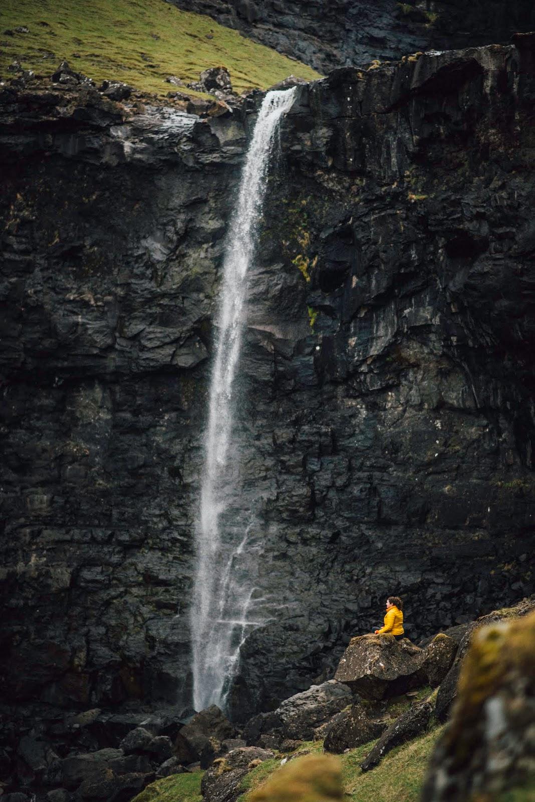 Tjørnuvík Tjornuvik beach waterfall liquid grain liquidgrain