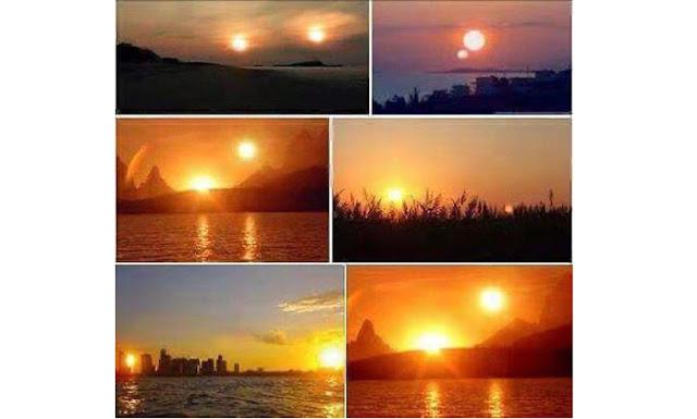 Penampakan 2 Matahari Bikin Panik, Bumi di Ambang Binasa?