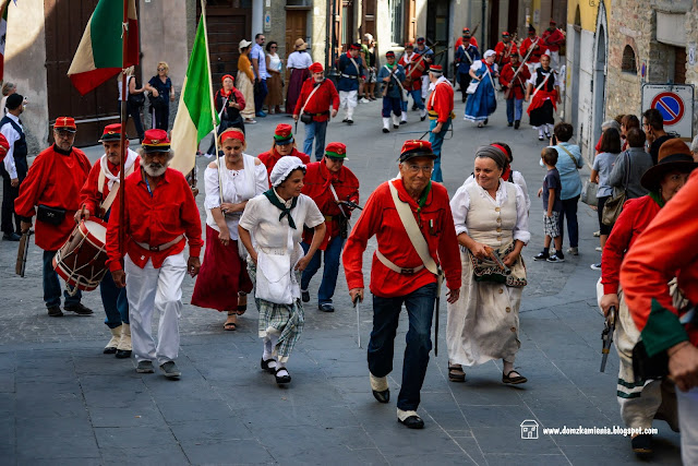 feste dell'Ottocento a Modigliana