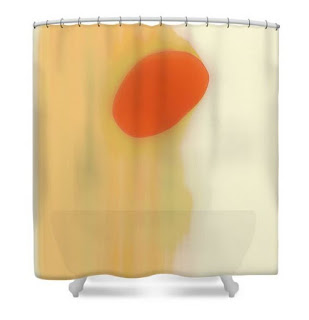 home decor ricki mountain shower curtain