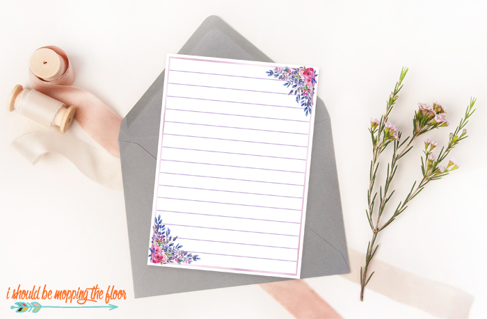 Stationery to Print at Home