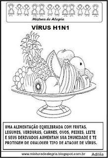 Atividades escolares sobre o vírus H1N1