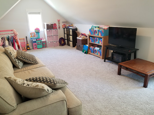 Peachtree City Professional Organizer Playroom and toy Organization