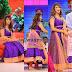 Lakshmi Manchu Purple Salwar