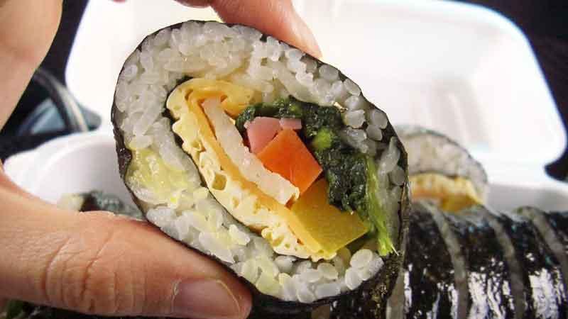 Perbedaan Kimbab dan Sushi