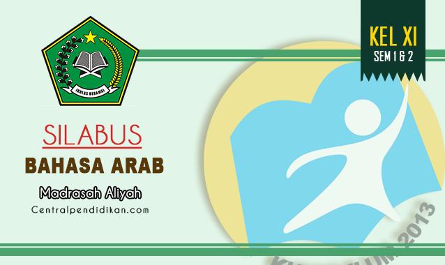 Silabus Bahasa Arab Kelas 11 MA