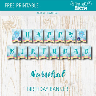 narwhal birthday party ideas