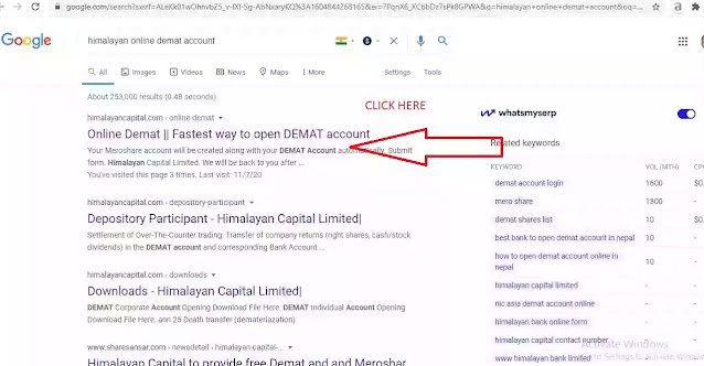 how to open demat account online in Nepal