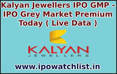 Kalyan Jewellers IPO GMP