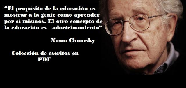 Colección de escritos en PDF de Noam Chomsky, Primer tomo