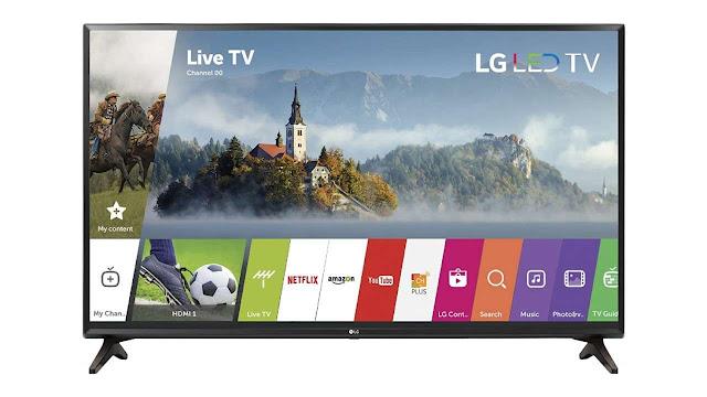 LG Electronics 32-Inch 720p Smart LED TV