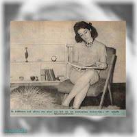 Η Μιράντα Κουνελάκη στην πρώτη της συνέντευξη σε περιοδικό («Θησαυρός», 4/5/1961)