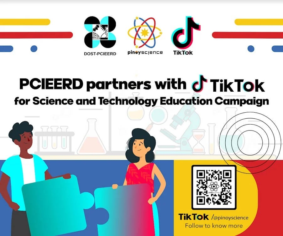 DOST-PCIEERD, TikTok Ink Collaboration to Reinforce the Promotion of Pinoy Innovation