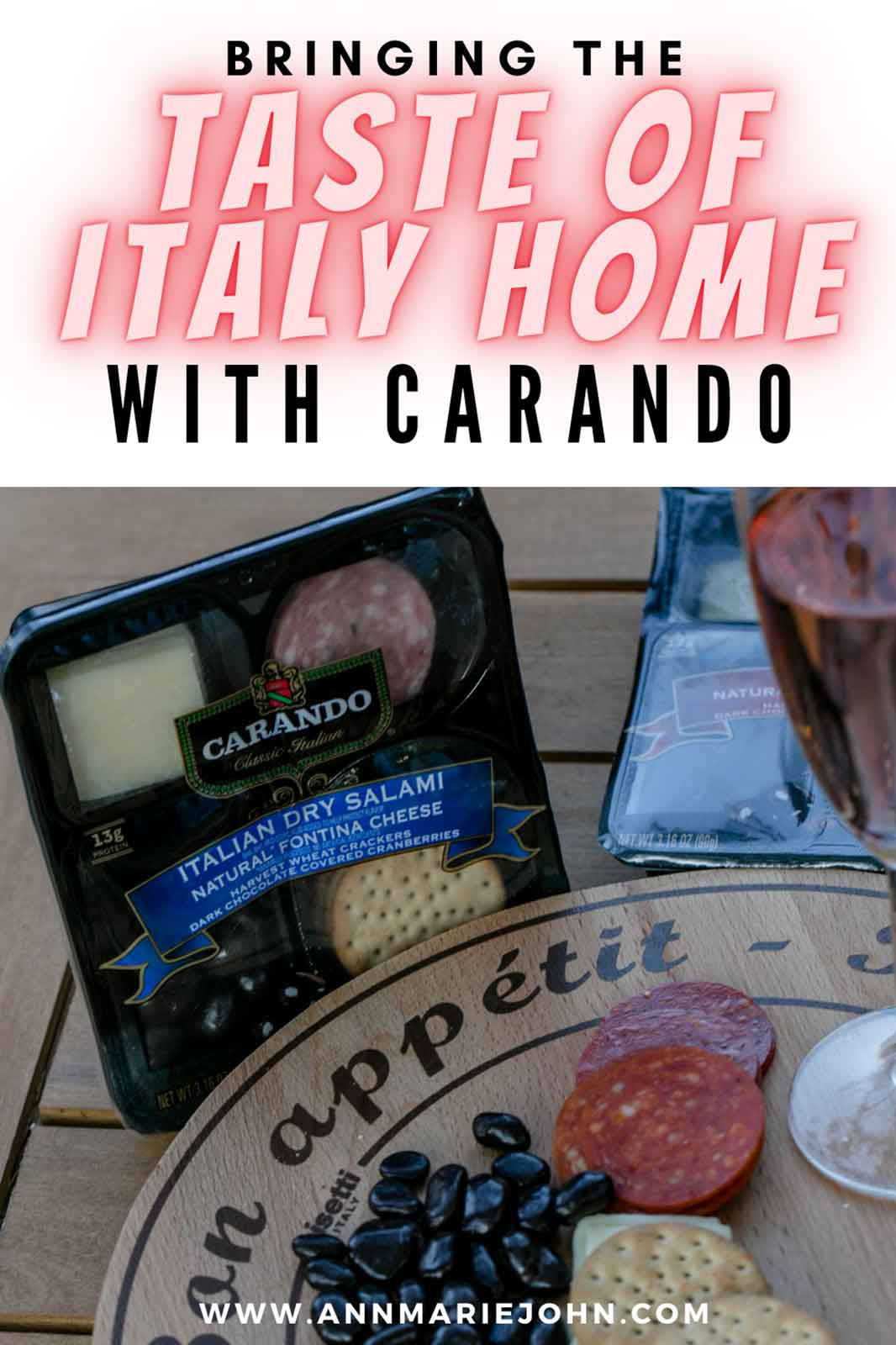 Want to bring the taste of Italy home? Find out how you can do so with Carando.
