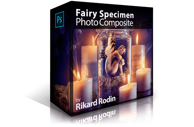Fairy Specimen Photo Composite