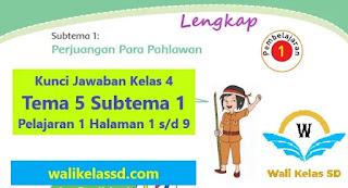 Tema 5 Subtema 1 Pelajaran 1