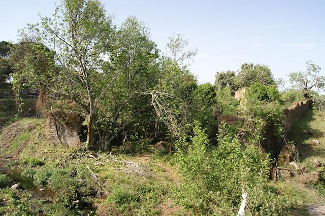 Ruinas de la antigua fábrica de paños del Bejarano .