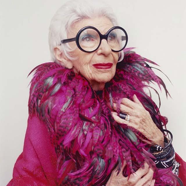 The Peak of Très Chic: Style Icon: Iris Apfel