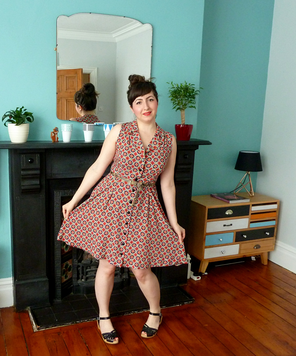 Super Pattern Testing: Sew Over It's Vintage Shirt Dress - A Stitching  OY43