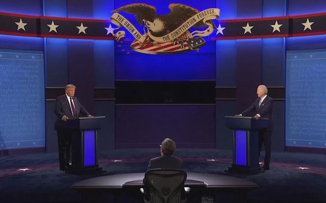 CNN Brasil transmite o último debate entre Trump e Biden