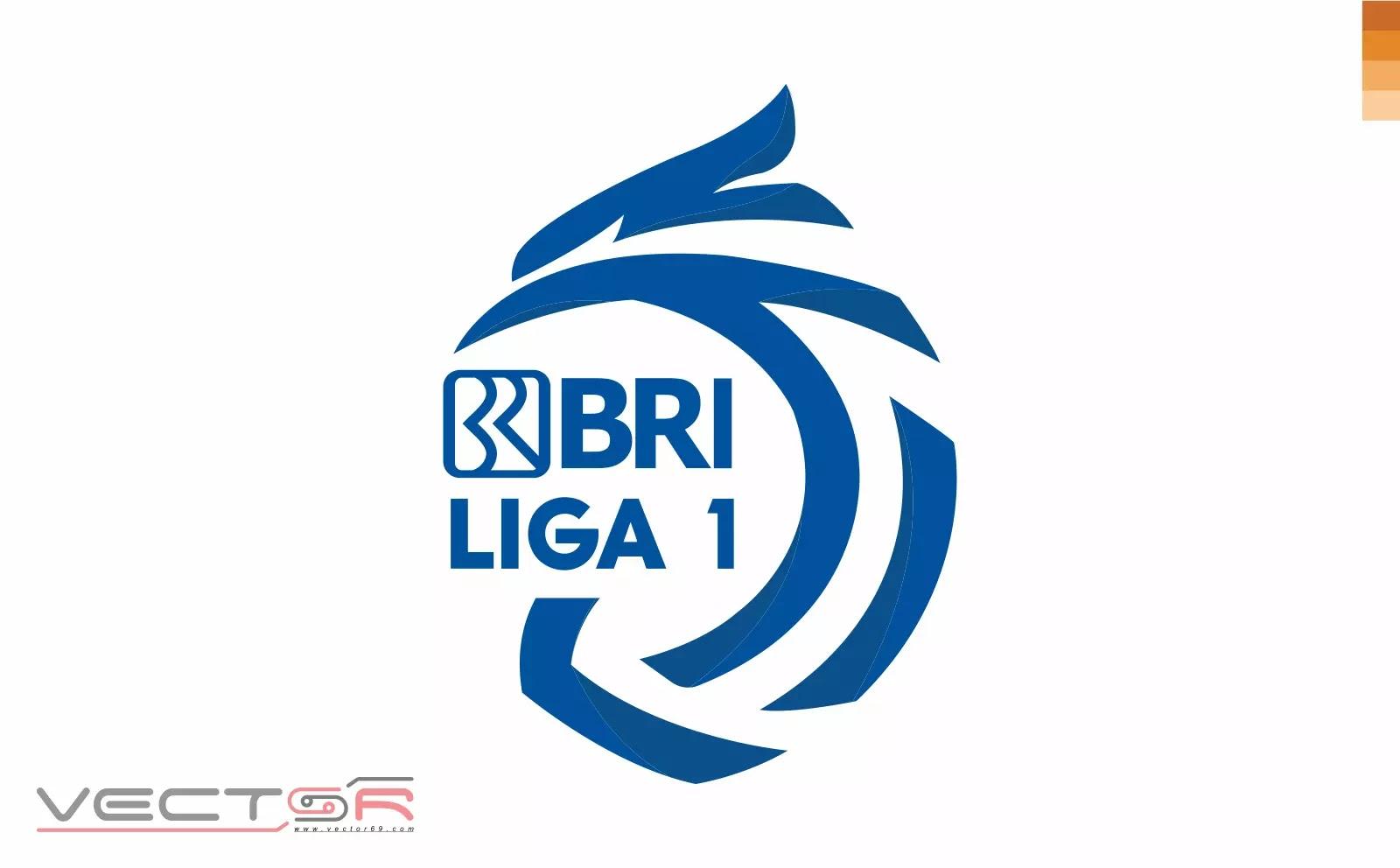 BRI Liga 1 Indonesia Logo (Color) - Download Vector File AI (Adobe Illustrator)