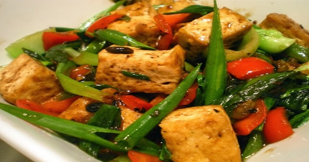 Tokwat At Tausi (Tofu In Black Bean Sauce) Recipe