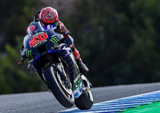 Quartararo Pole Position motogp Jerez Spanyol 2021