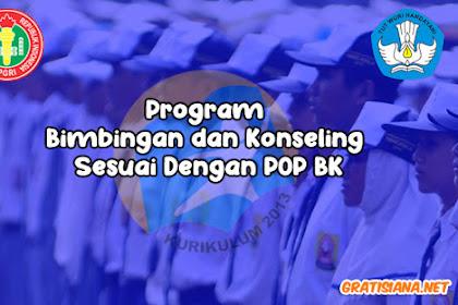 Program Bimbingan dan Konseling Sesuai Dengan POP BK TP. 2019/2020