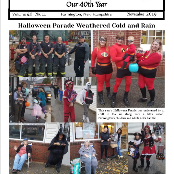 The November 2019 Issue of the Puddledock Press is Now Available