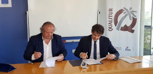 Turisme Comunitat Valenciana y el ICTE firman un convenio para promocionar la Marca Q de Calidad en la Comunitat Valenciana