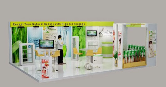 BOOTH EXHIBITION : LARISSA AESTHETIC CENTER