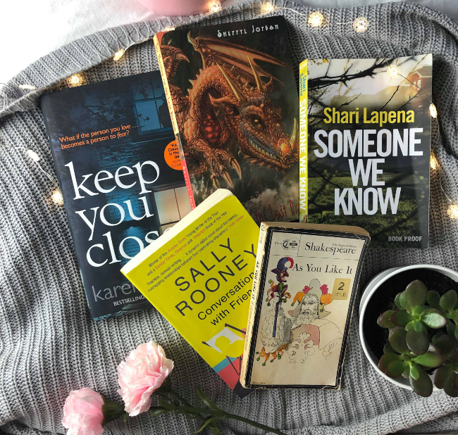 June and July reading wrap up