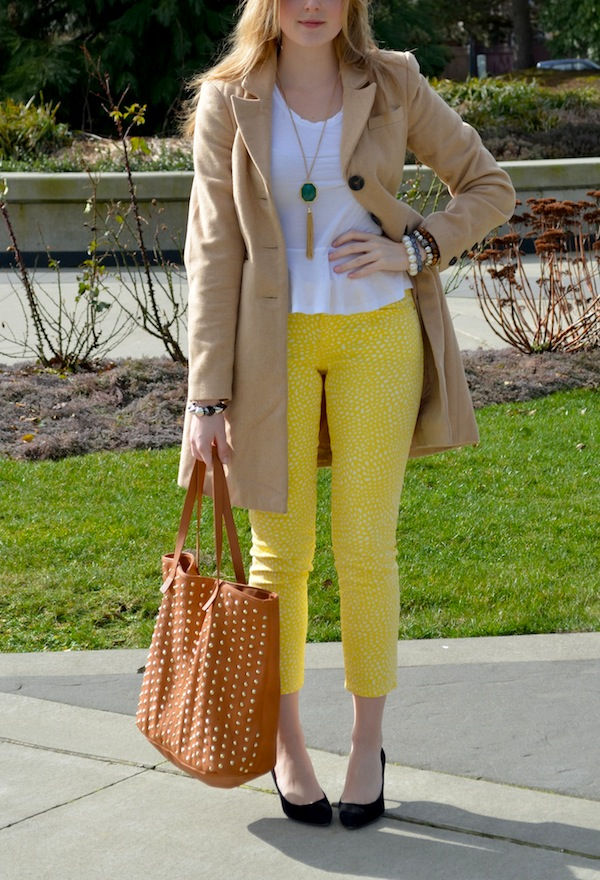 How to Style Polka Dot Jeans