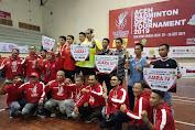 Banteng Cup Aceh Badminton Open Tournament 2019 Sukses