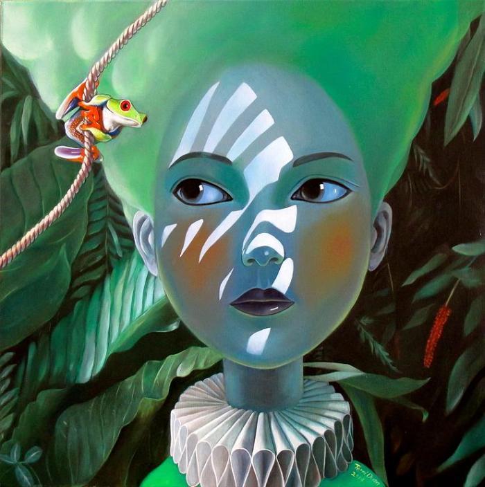 Китайский художник. Terri Duan (