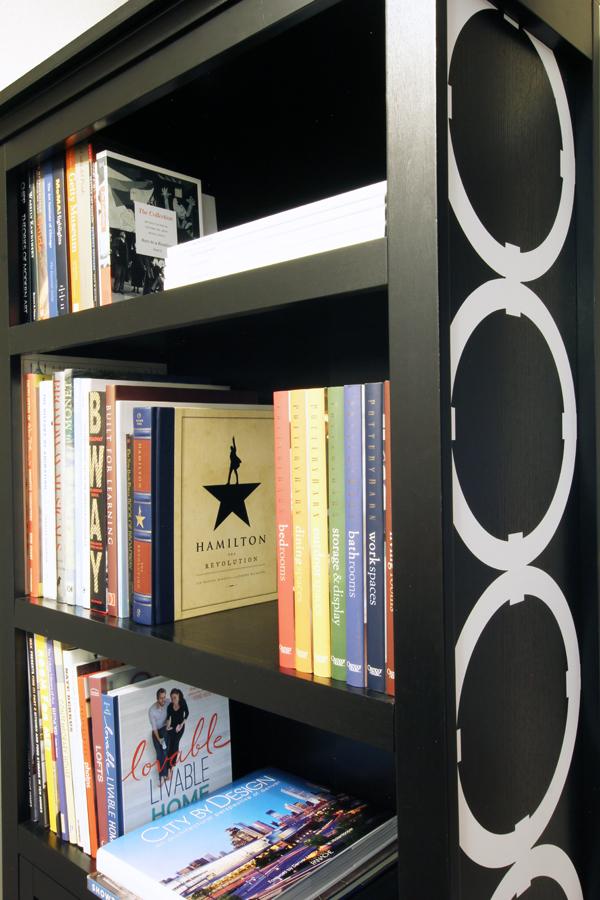 Bookshelf Vinyl Circles Cricut Design Space