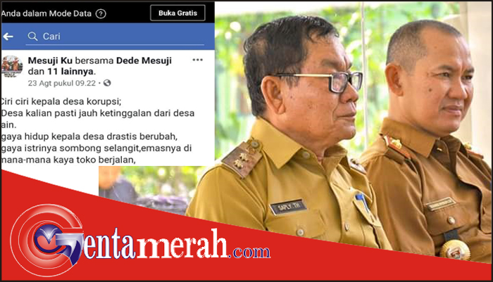 "Terkait Ujaran Kebencian, Kadis PMD Mesuji Dukung APDESI Laporkan Akun FB ""Mesuji Ku"" ke Polisi"