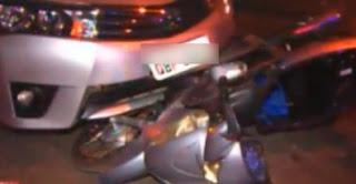 Motociclista quase tem pé amputado em acidente em VG