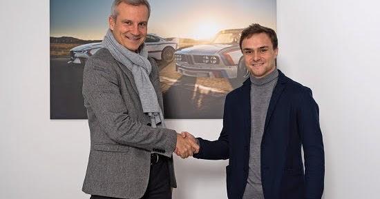 Lucas Auer kehrt 2020 mit BMW in die DTM zurück - Etabliertes Fahrerquartett bleibt im BMW M4 DTM am Steuer