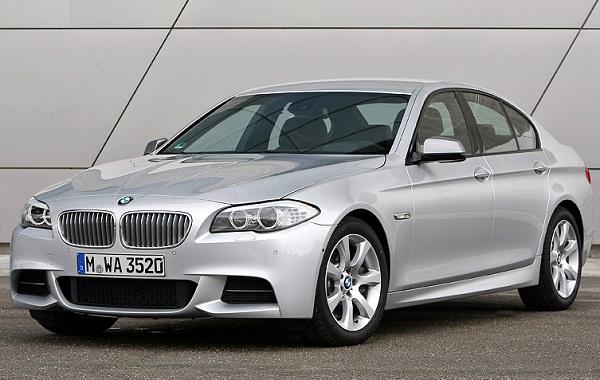 BMW M550d xDrive 2012