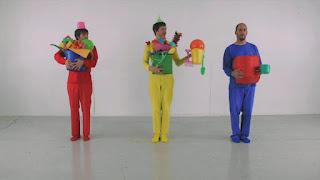Three main color OK GO, Sesame Street Episode 4316 Finishing the Splat season 43