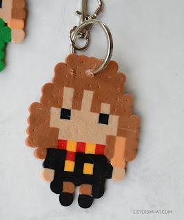 DIY Hermione Keychain