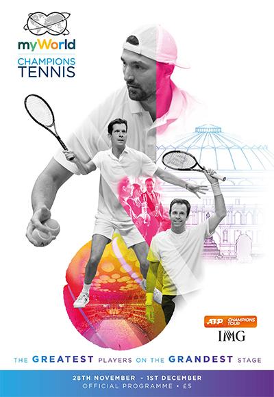myWorld Champions Tennis 2019 programme