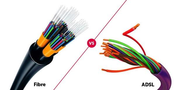 fiber vs adsl